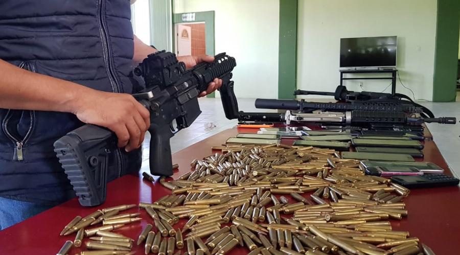 Pobladores de Ocotepec retienen a grupo de hombres; les confiscan armas y dron | El Imparcial de Oaxaca