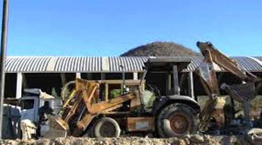 Se retrasan trabajos  en Huajuapan por  maquinaria pesada | El Imparcial de Oaxaca