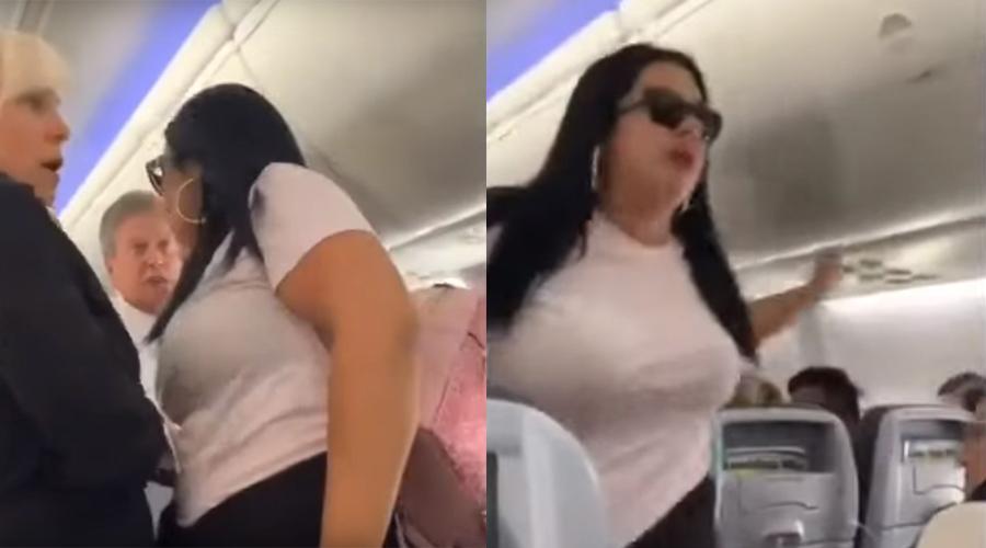 """Video: Mujer golpea a su pareja """"por mirar a las azafatas""""   El Imparcial de Oaxaca"""