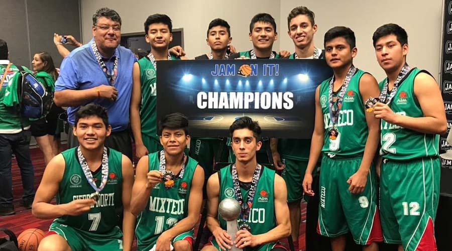 Triquis obtienen el bicampeonato del torneo de basquetbol más importante de EUA | El Imparcial de Oaxaca