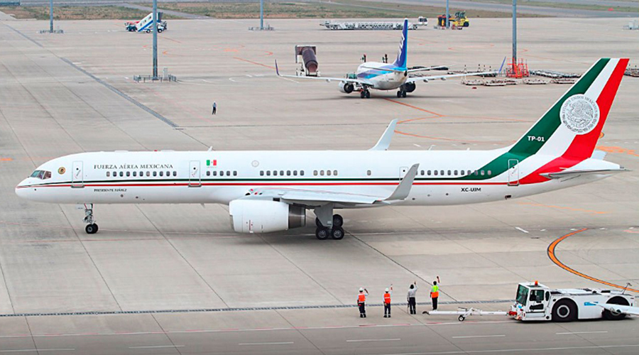 Avión presidencial tiene ya propuestas de compra | El Imparcial de Oaxaca