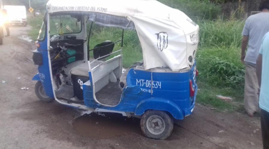 Choque de mototaxi deja lesionado a adulto mayor en Juchitán   El Imparcial de Oaxaca