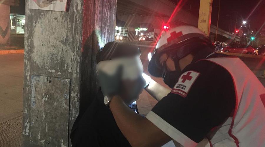 Lo embiste un taxista en el crucero de Cinco Señores | El Imparcial de Oaxaca