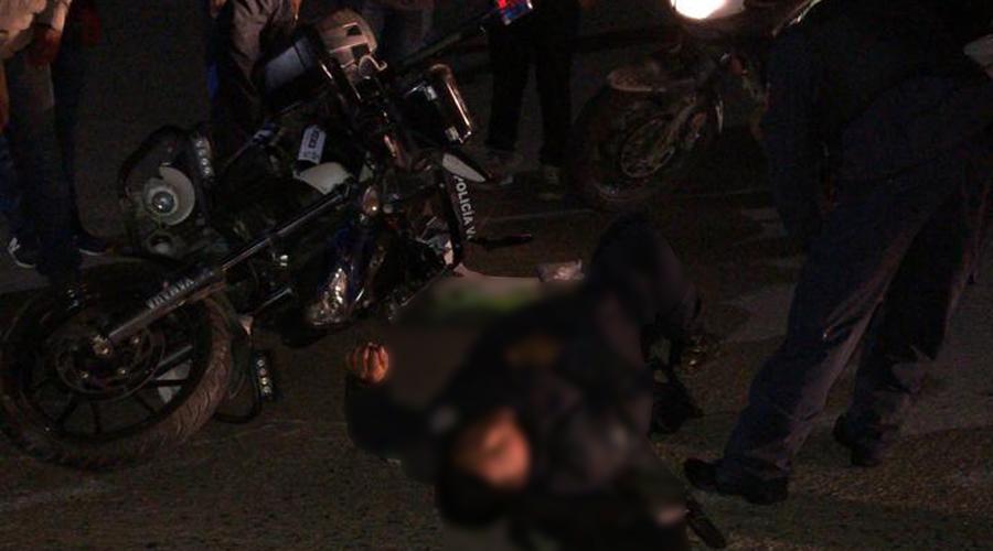 Atropella a policía vial en avenida Universidad   El Imparcial de Oaxaca