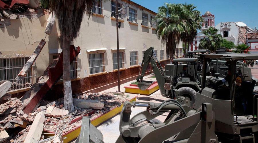 En Oaxaca, lenta reconstrucción de escuelas dañadas por los sismos de 2017 | El Imparcial de Oaxaca