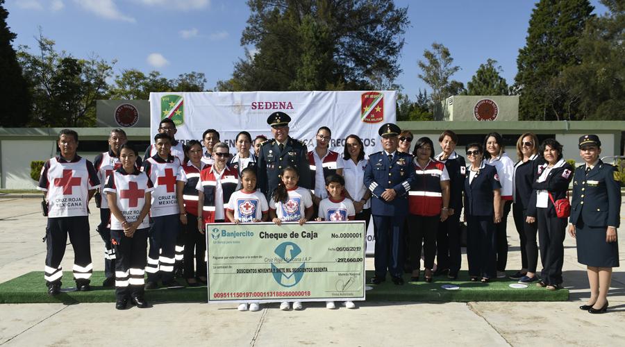 Donan a Cruz Roja casi 300 mil pesos en Oaxaca | El Imparcial de Oaxaca
