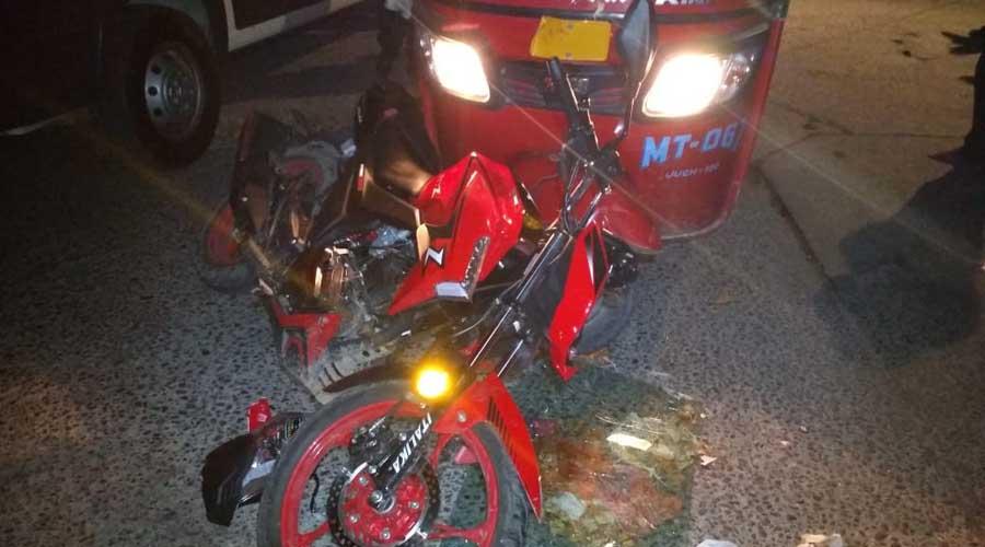 Un lesionado en aparatoso percance en Juchitán | El Imparcial de Oaxaca