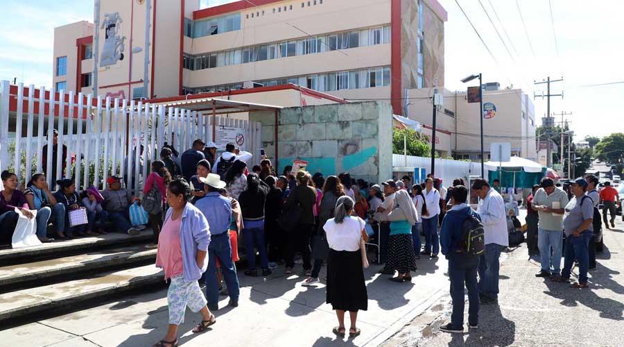 Cancelan 600 atenciones en Hospital Civil de Oaxaca por paro | El Imparcial de Oaxaca