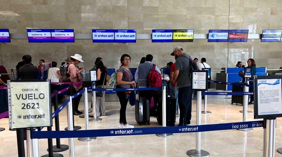 Enojo e incertidumbre en usuarios por la cancelación de vuelos en Interjet | El Imparcial de Oaxaca