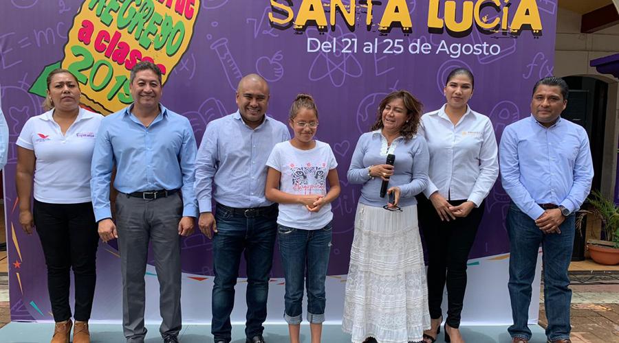Inauguran en Santa Lucía del Camino Feria de Regreso a Clases | El Imparcial de Oaxaca