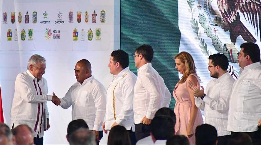 Firma del Pacto Oaxaca, reflejo del compromiso de AMLO: Dante Montaño   El Imparcial de Oaxaca