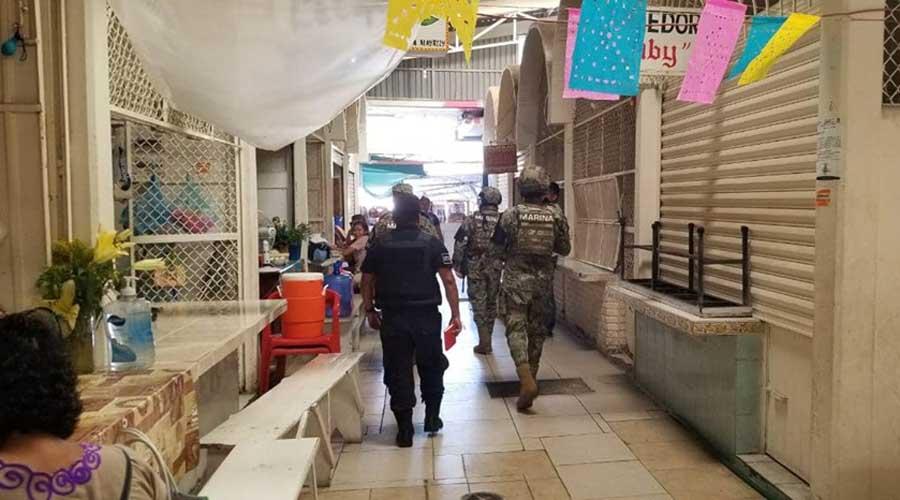 Guardia Nacional realiza rondines en los mercados del Istmo   El Imparcial de Oaxaca