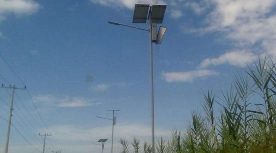 Inservibles, las luminarias en bordos del Río Salado | El Imparcial de Oaxaca