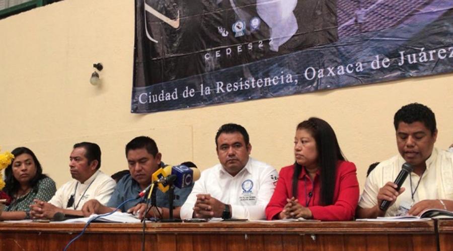Presenta Sección 22 de Oaxaca plan educativo alterno | El Imparcial de Oaxaca
