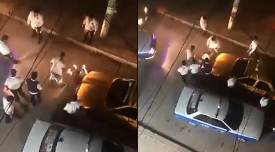 Taxistas foráneos golpean brutalmente a taxista de la ciudad | El Imparcial de Oaxaca