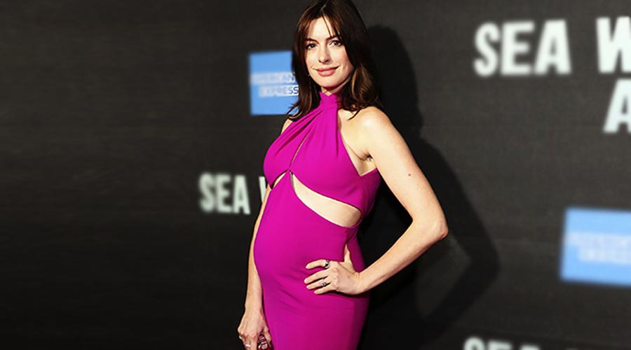 Luce Anne Hathaway vestido sexy con segundo embarazo | El Imparcial de Oaxaca