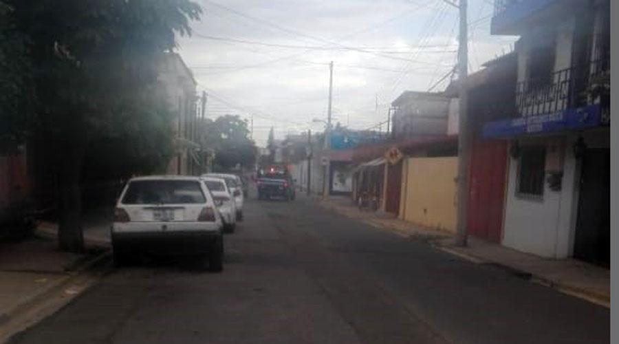 El barrio de La Noria en tinieblas | El Imparcial de Oaxaca