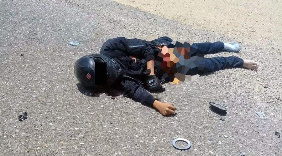 Muere joven estampado en su motocicleta en la Mixteca | El Imparcial de Oaxaca