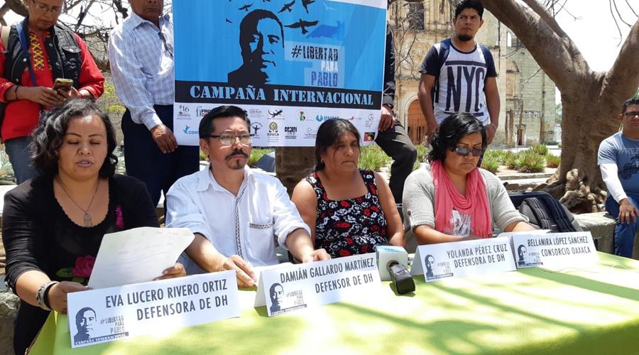 Reiteran Organizaciones No Gubernamentales en Oaxaca petición de libertad para activista | El Imparcial de Oaxaca