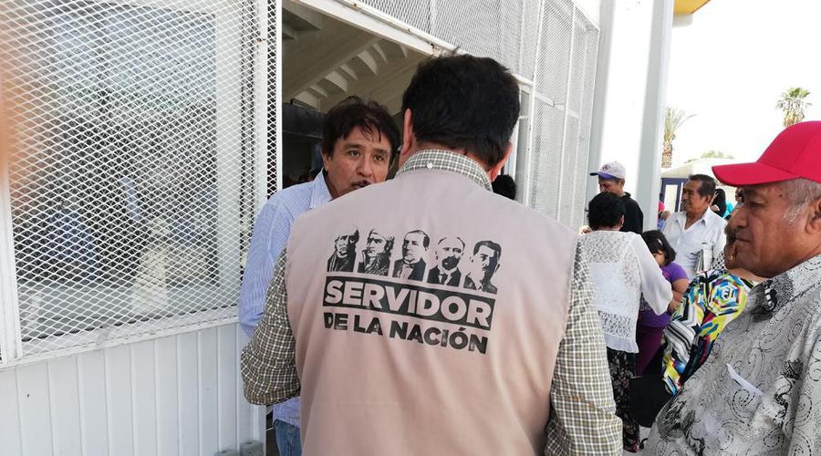 Retirarán imagen de AMLO de chalecos de Servidores de la Nación para evitar proselitismo | El Imparcial de Oaxaca