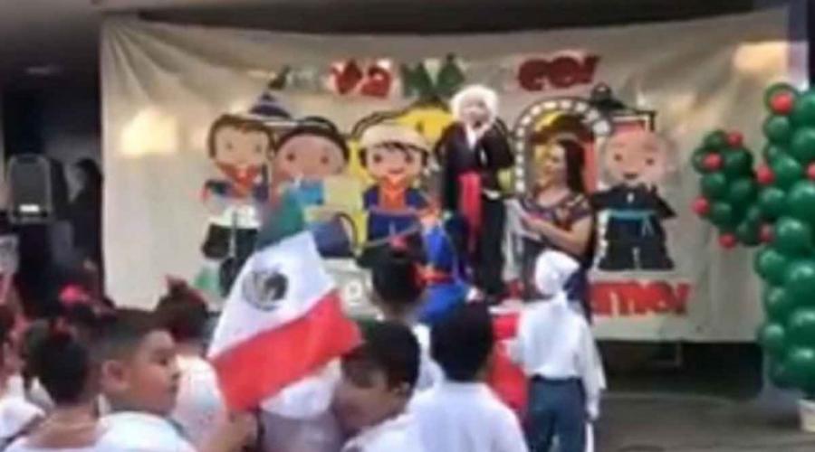 Video: niño da el grito y se echa un ¡viva México, cab..! | El Imparcial de Oaxaca