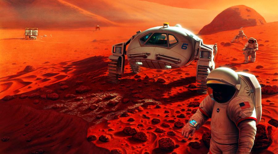Desafío de la NASA por llegar a Marte incluye salud de astronautas | El Imparcial de Oaxaca