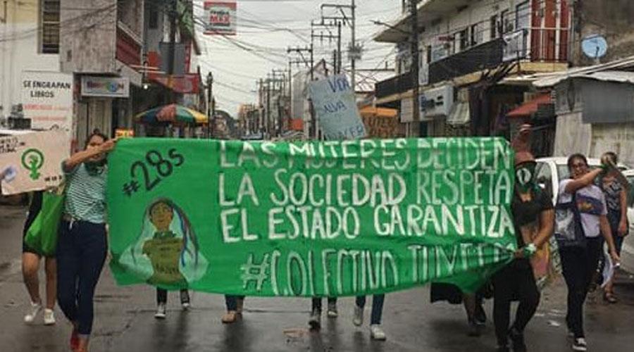 Marchan a favor del aborto en Tuxtepec   El Imparcial de Oaxaca