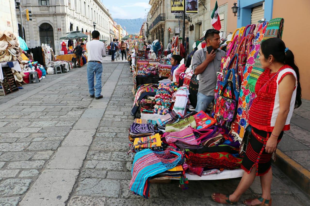 Reubican a ambulantes en el Andador Turístico de Oaxaca | El Imparcial de Oaxaca
