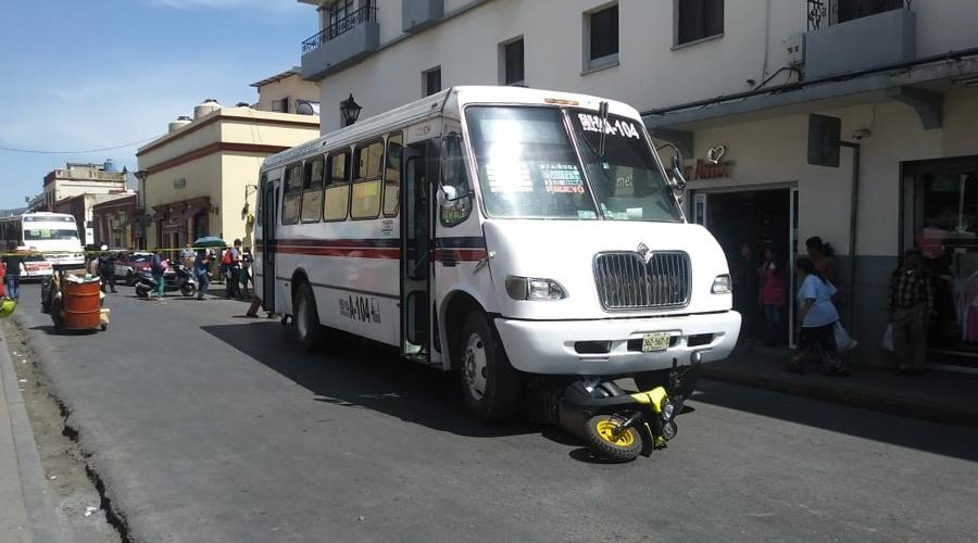 El transporte público en Oaxaca, un peligro para los peatones   El Imparcial de Oaxaca