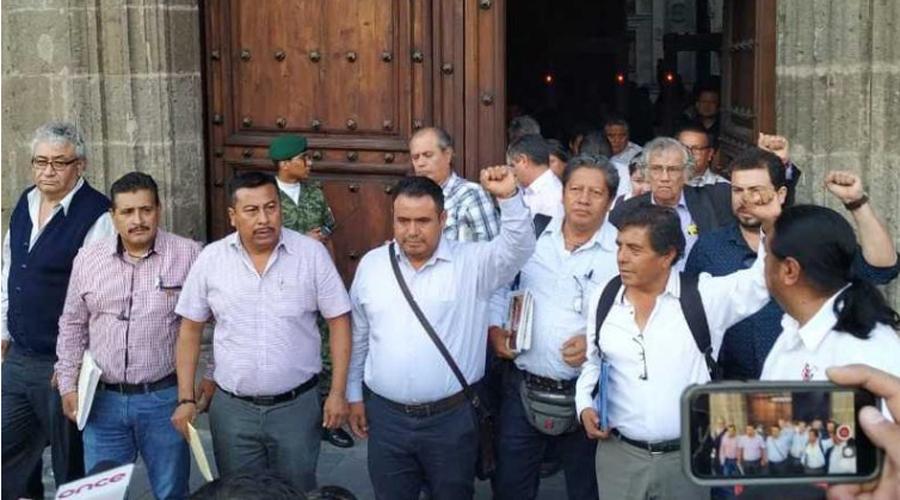 Festina Sección 22 abrogación de la ley punitiva de Peña | El Imparcial de Oaxaca