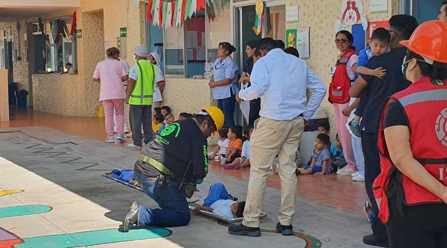 Simulacro en estancia infantil: reportan muertos y heridos   El Imparcial de Oaxaca