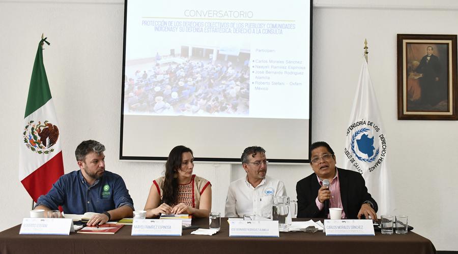 Piden al Congreso promulgación de la Ley de Consulta indígena   El Imparcial de Oaxaca