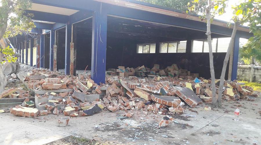 Por adeudos, empresarios istmeños no reiniciaran la reconstrucción de escuelas | El Imparcial de Oaxaca