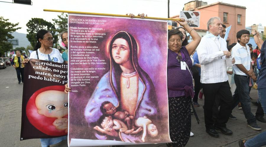 Encabeza Arzobispo marcha contra el aborto | El Imparcial de Oaxaca