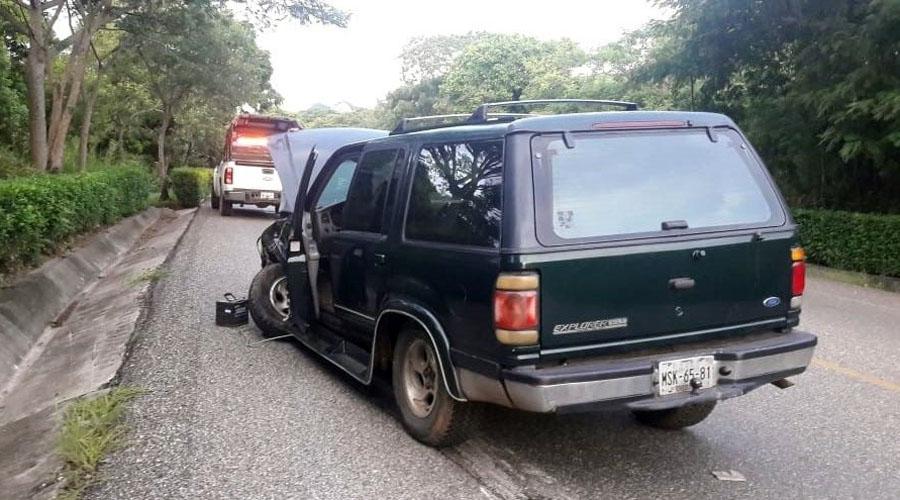 Trailero embiste una camioneta en Lagunas, Oaxaca | El Imparcial de Oaxaca