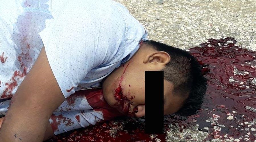 Lo ejecutan y le dejan mensaje en Matías Romero | El Imparcial de Oaxaca