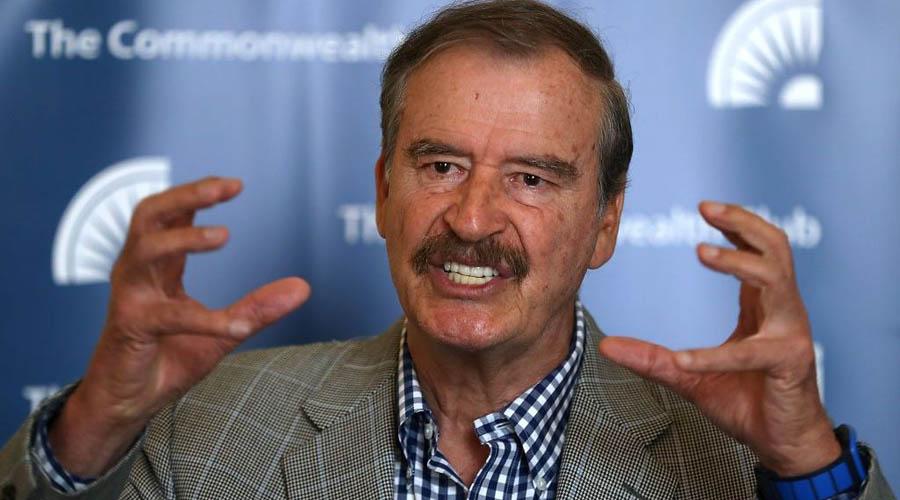Qué solito y poca cosa se veía López en el balcón de Palacio: Vicente Fox   El Imparcial de Oaxaca