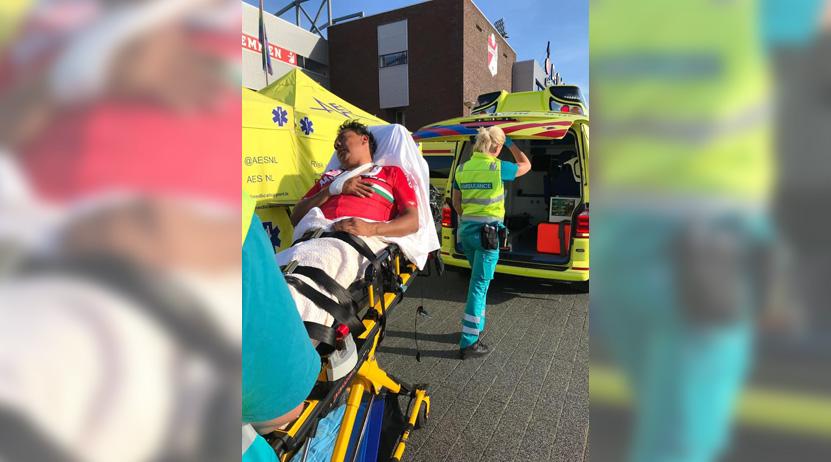 Ciclista oaxaqueño sufre fuerte caída en Mundial de Paraciclismo de Holanda   El Imparcial de Oaxaca