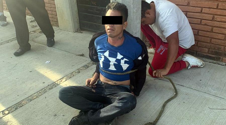 Dan escarmiento a presunto ladrón de mujeres en Santa Rosa | El Imparcial de Oaxaca