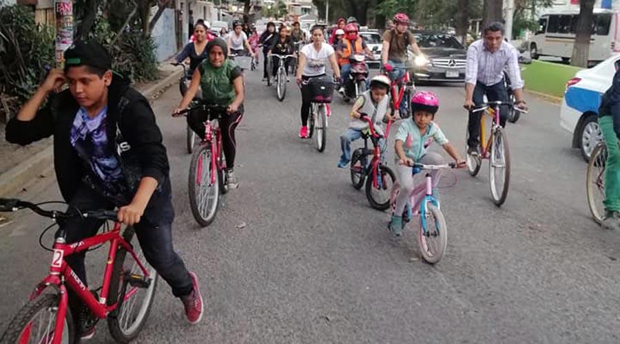 Recorren Santa Lucía en bicicleta | El Imparcial de Oaxaca