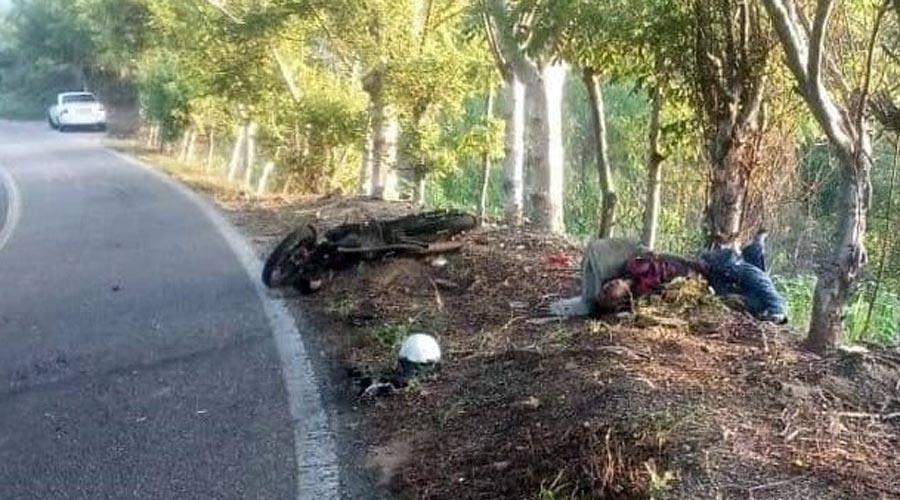 Muere al derrapar en la carretera Pinotepa-Cacahuatepec   El Imparcial de Oaxaca
