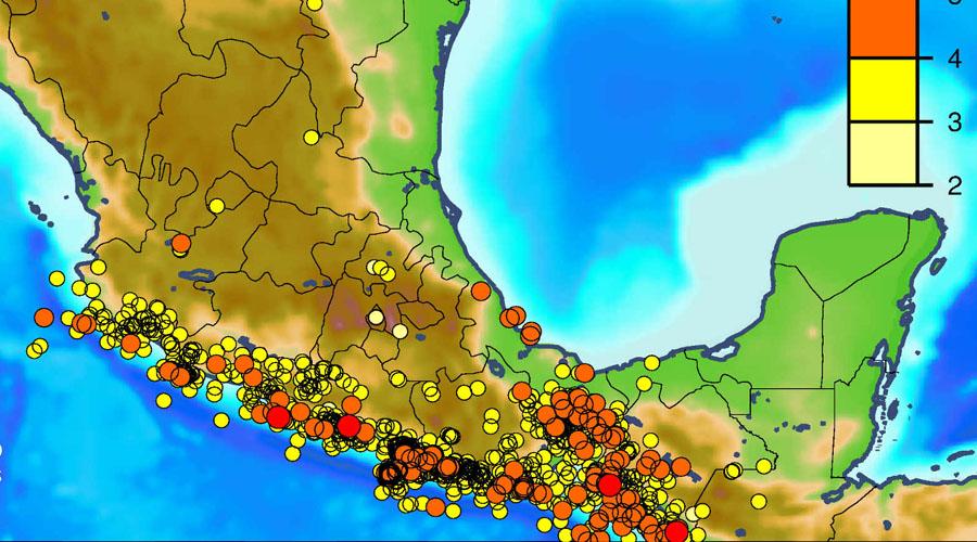 Van 41 mil sismos en Oaxaca desde 7-S | El Imparcial de Oaxaca