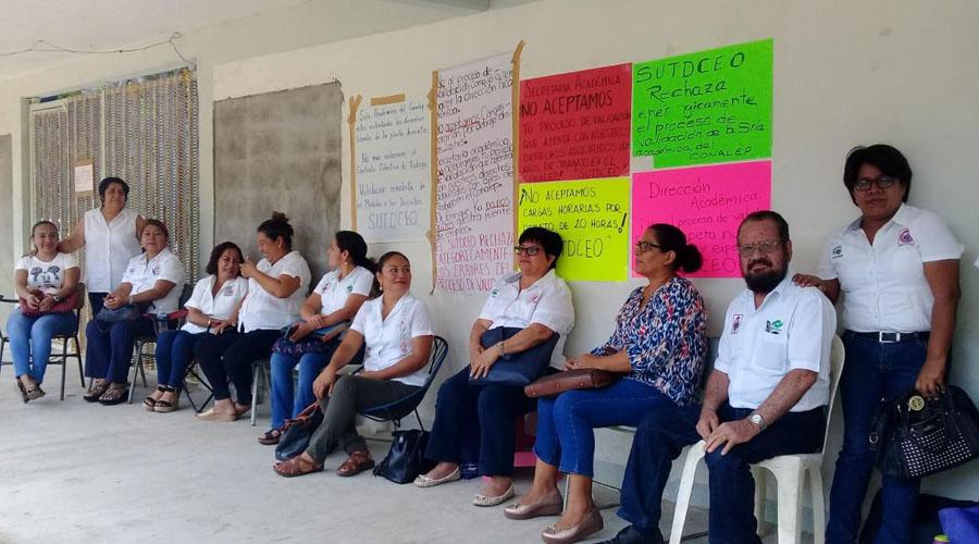 Denuncian en Conalep falta de condiciones para laborar   El Imparcial de Oaxaca