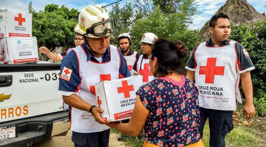 Lista Cruz Roja para traslado de apoyos en Oaxaca | El Imparcial de Oaxaca