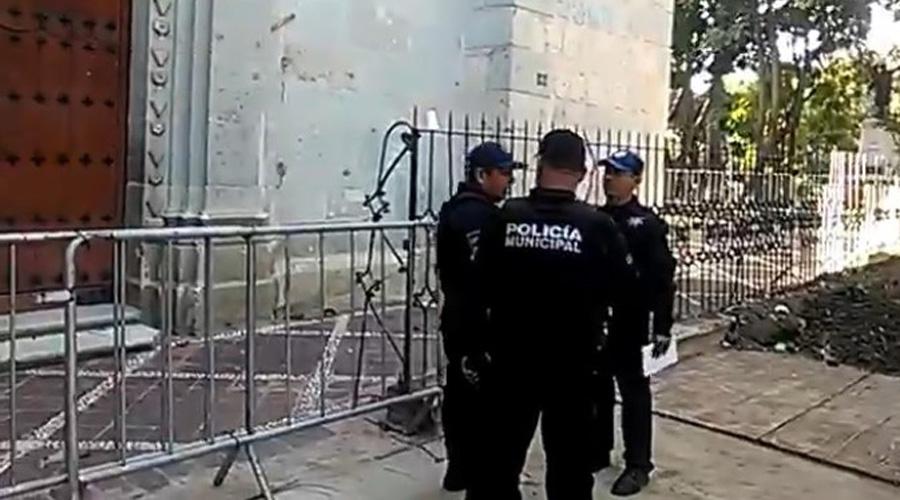 Tratan de robar en las alcancías en el templo de la Virgen de Guadalupe | El Imparcial de Oaxaca