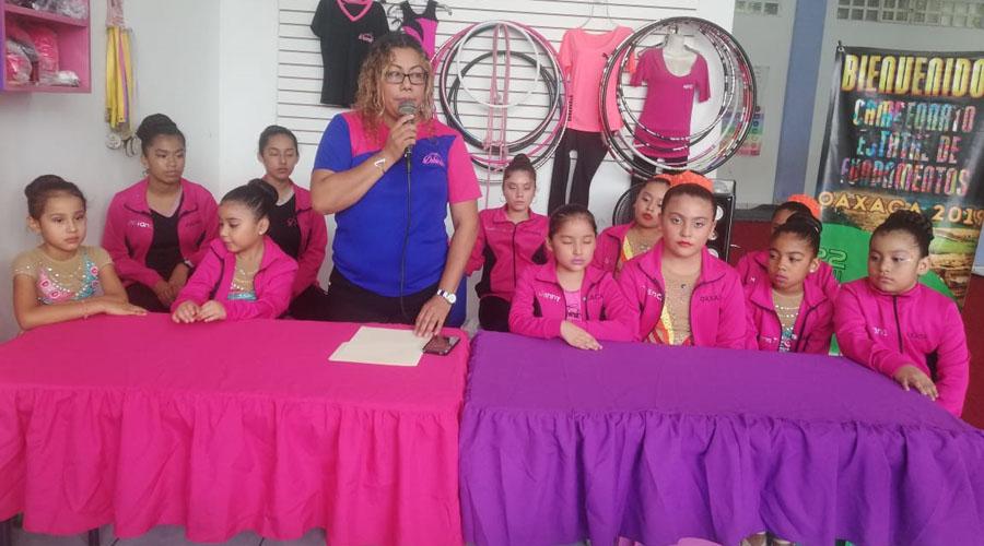Participará escuela en Gimnasia Rítmica   El Imparcial de Oaxaca