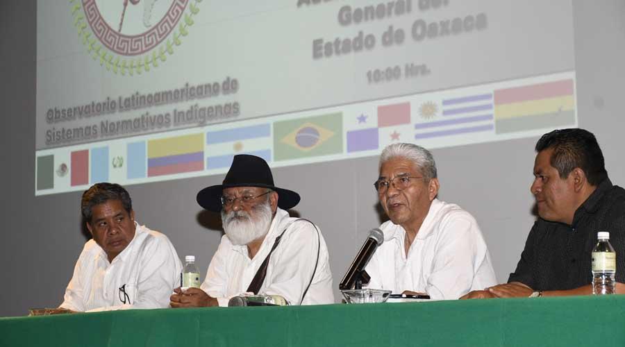 Los pueblos indígenas somos naciones dominadas: Cipriano | El Imparcial de Oaxaca