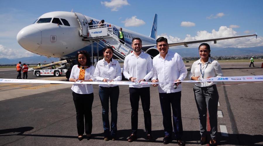 Inauguran ruta aérea entre Oaxaca y Cancún | El Imparcial de Oaxaca
