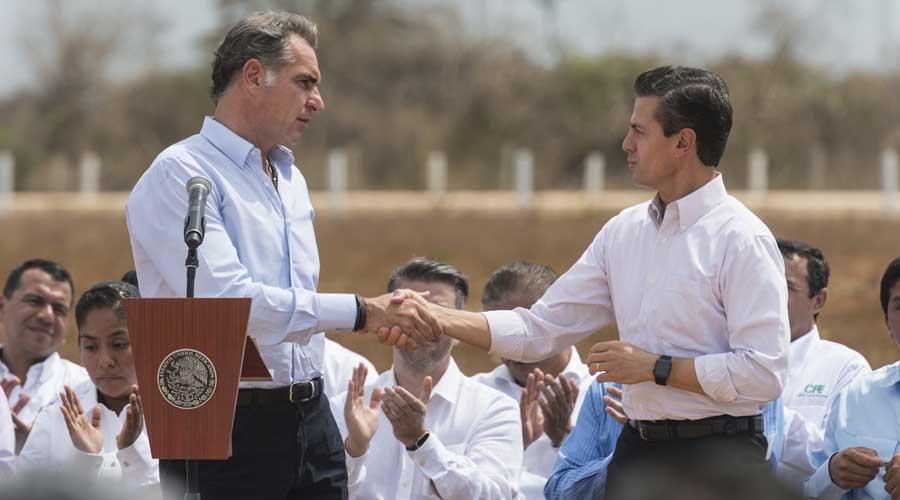 Peña Nieto perdonó impuestos por 538 millones de pesos a Gabino Cué   El Imparcial de Oaxaca