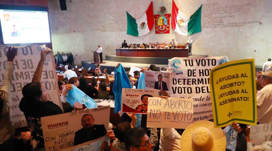 Evaden diputados de Oaxaca aborto y deuda | El Imparcial de Oaxaca